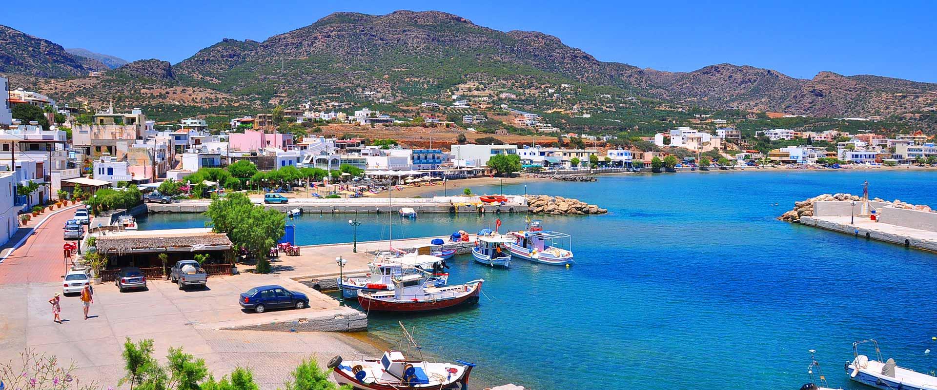 Carte Crete Stavromenos.Makrigialos Village East Crete Ierapetra Sitia